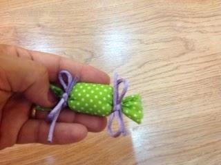 DIY play food: a bag of candy