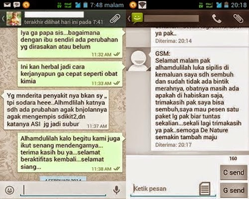 Screen Shoot Testimoni