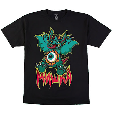 "Paul Kaiju x Mishka ""Bat"" T-Shirt"