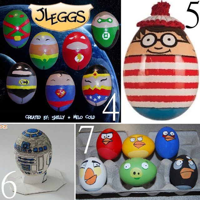 Egg Character Design Ideas : Unusual easter egg character ideas the scrap shoppe