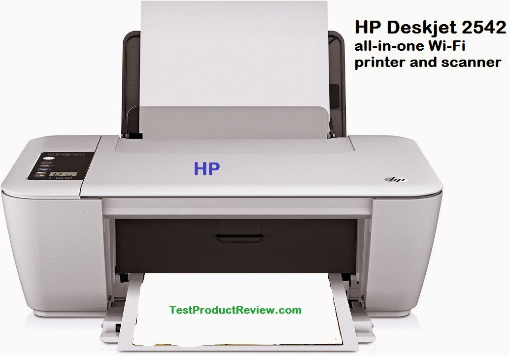 HP Deskjet 2542 all-in-one Wi-Fi printer and scanner