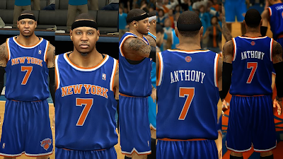 Real Knicks Away Jersey Color (Darker)