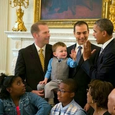 Obama gay fathers day