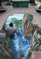 3d Chalk Art2