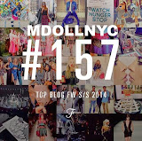 RANK #157 OUT OF 1,153 BEST BLOGS FW S/S 2013