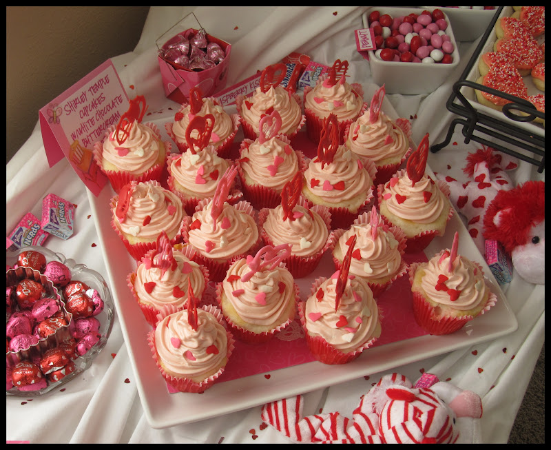 MOMS CRAZY COOKING: Shirley Temple Cupcakes & The PINKEST Baby Shower ...