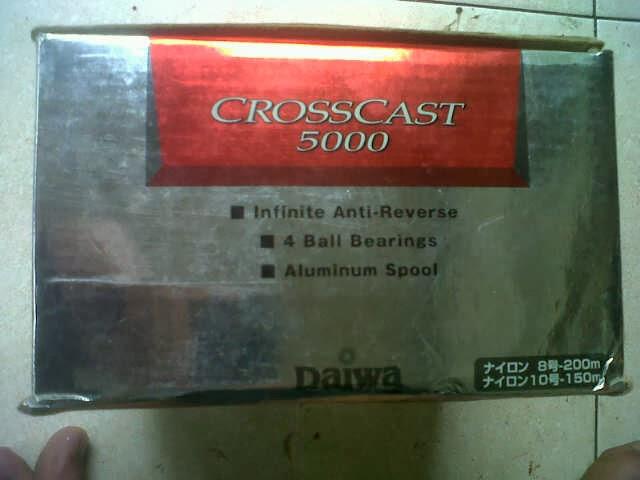 reel daiwa crosscast