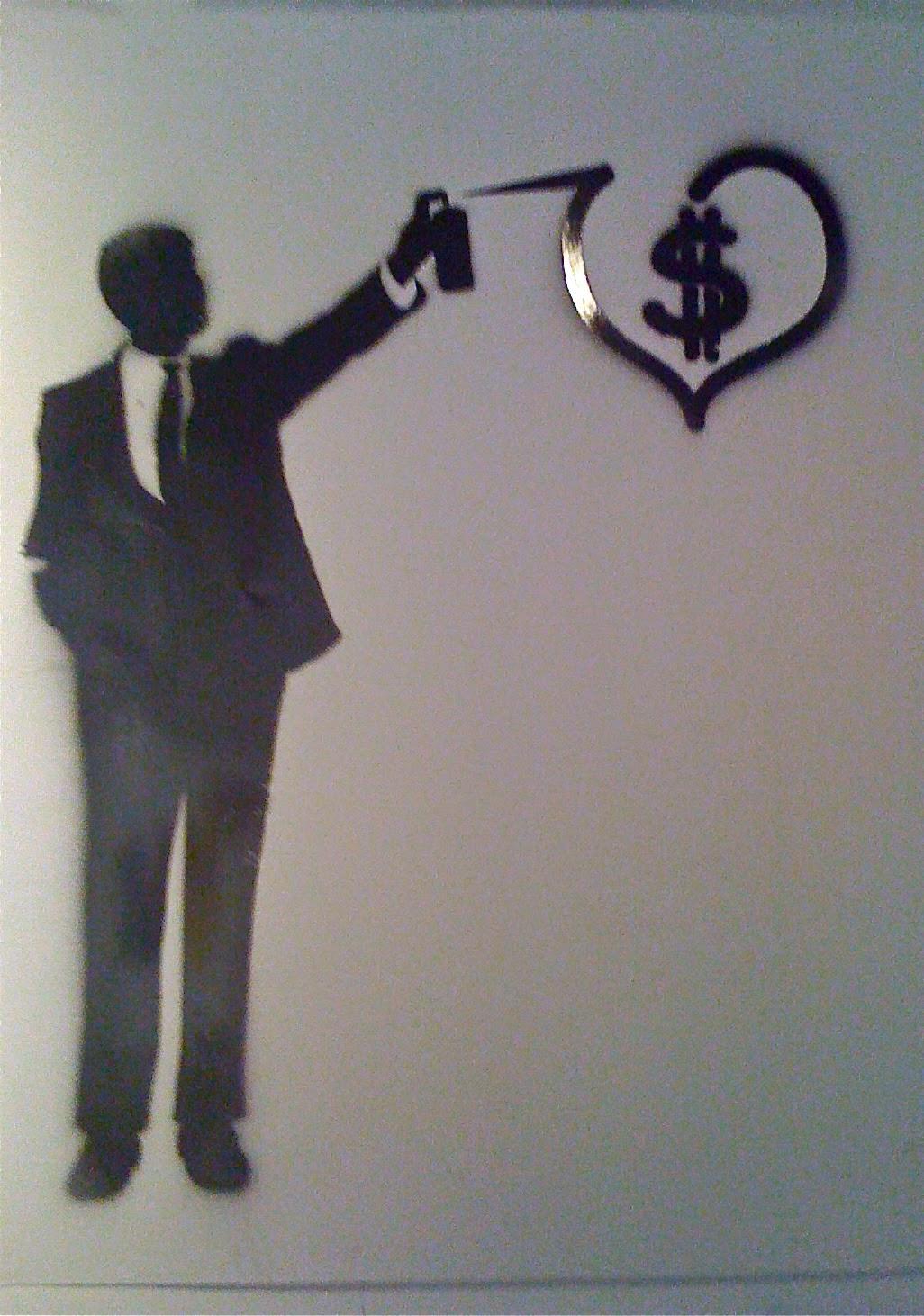 street art and money