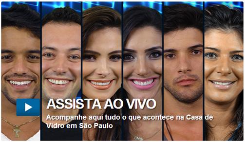 Site oficial da Globo