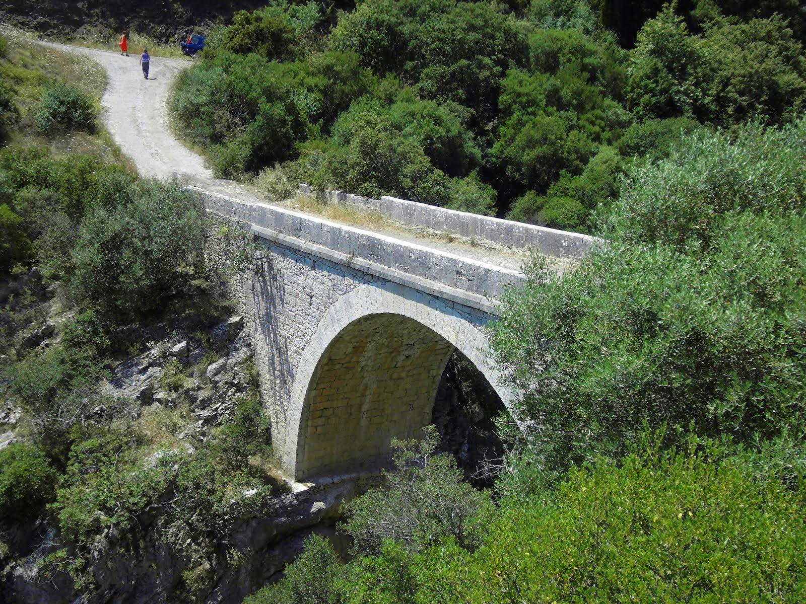 Το γεφύρι του Κούκου στον Αλφειό