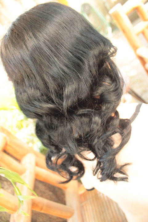 how to get no heat curls for short hair