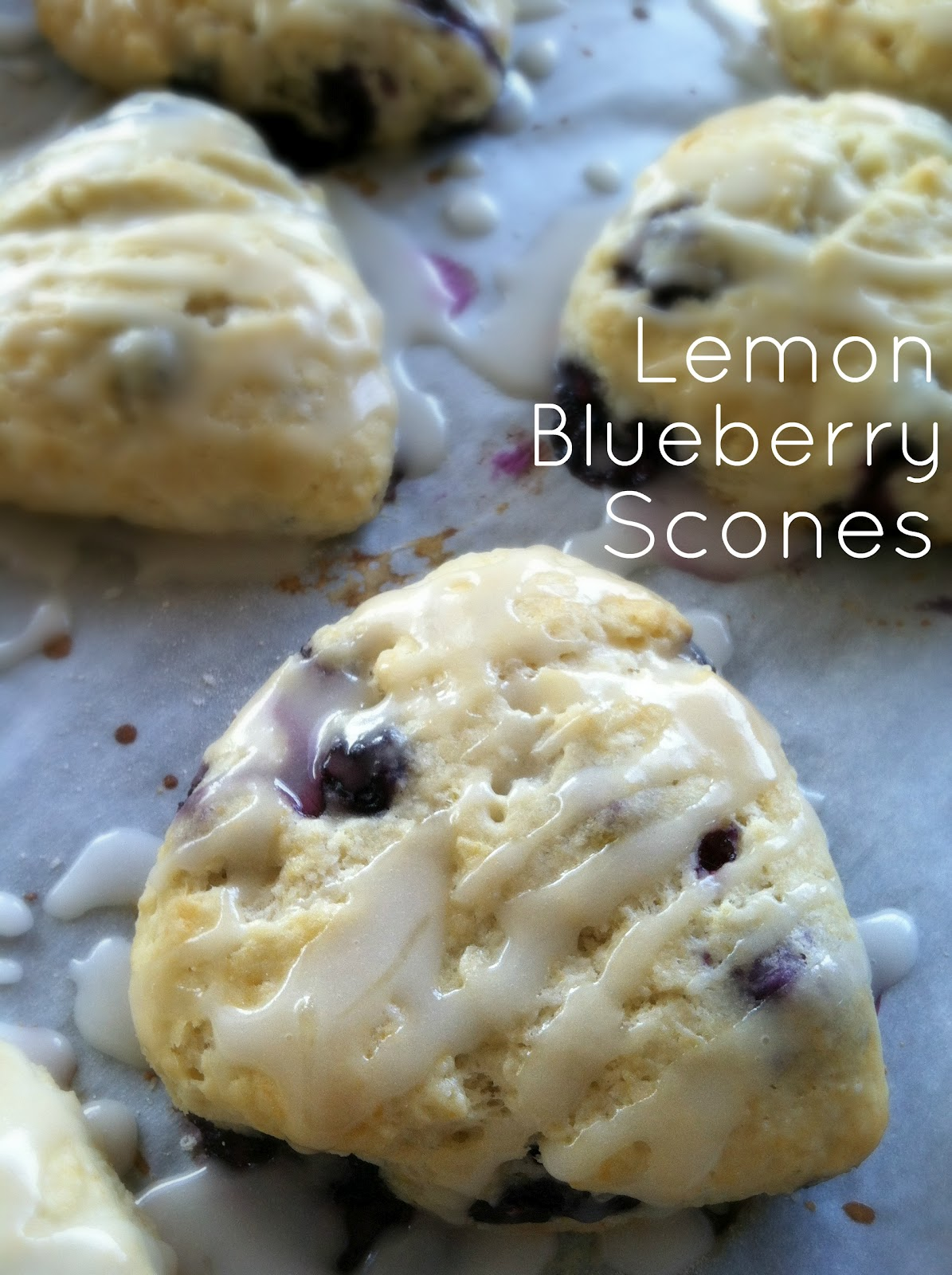 Blueberry Lemon Scones Recipe — Dishmaps