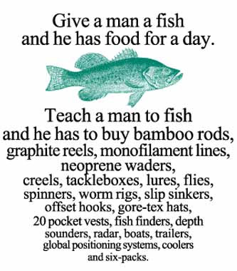 Terrierman 39 s daily dose teach a man to fish for Teach a man to fish bible verse