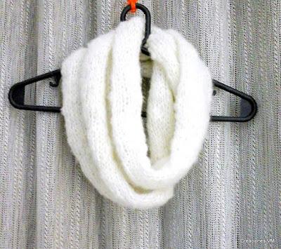 Bufanda circular de símil mohair