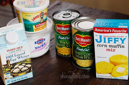 Make-Over Corn Casserole | Skinnytaste