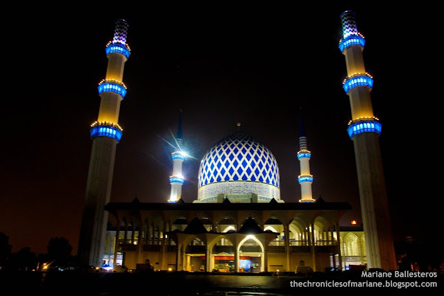 blue mosque malaysia