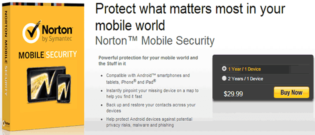 Download Norton Mobile Security