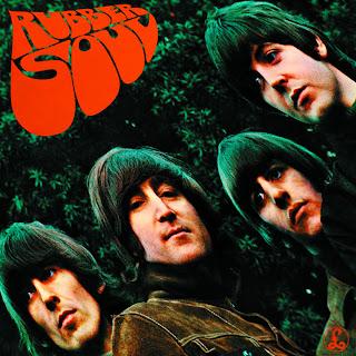 Capa de Rubber Soul, de 1965, o sexto disco dos Beatles.