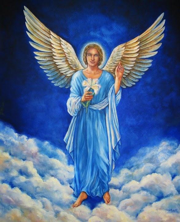 #ArcangelGabriel #Angel #arcangeles #Gabriel #ArkanoEzael #tarot