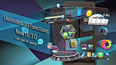 Download Next launcher 3D shell premium apk v3.2