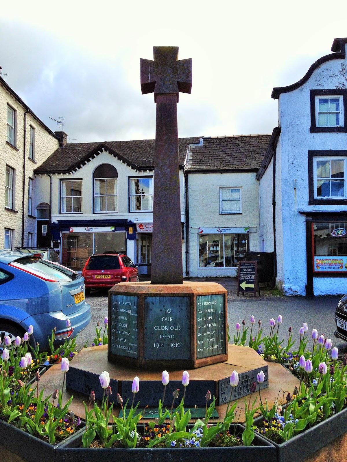 WW2 - The Second World War: Kirkby Stephen War Memorial ...