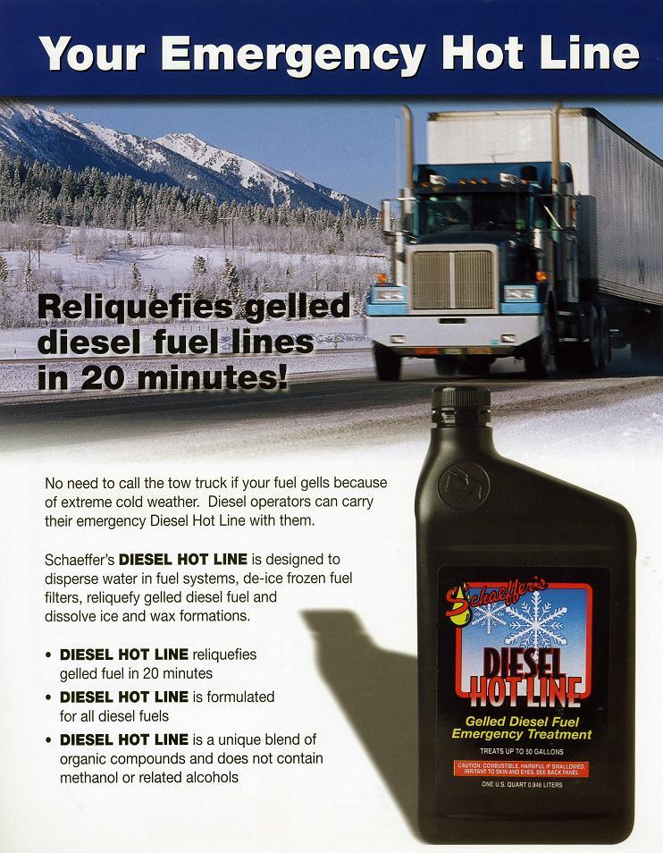 Diesel Hot Line 284 Brochure