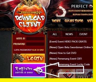 Swordsman Game Online Pendekar Hina Kelana