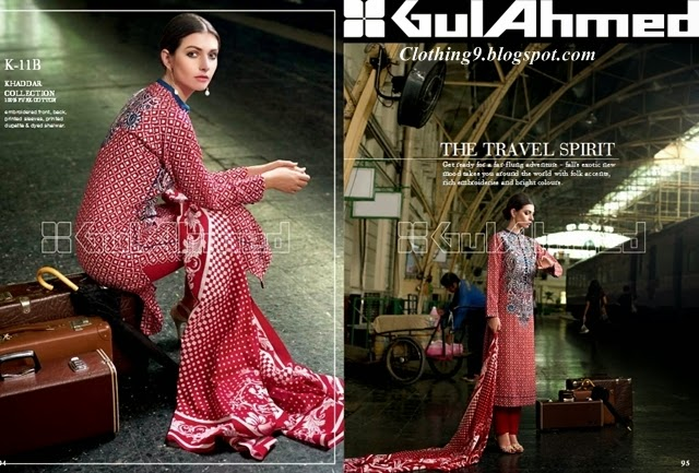 GulAhmed Fall/Winter Collection 2014-15