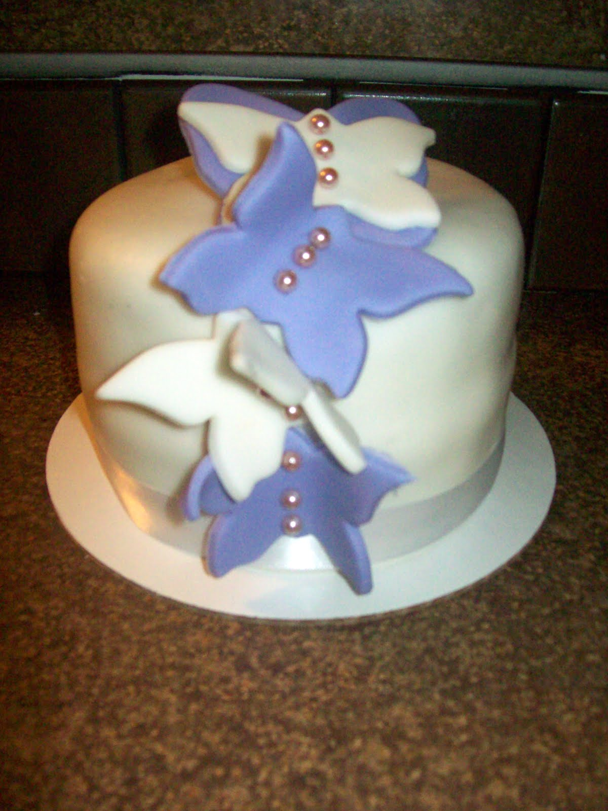 Cakes By Design Butterfly wedding cake