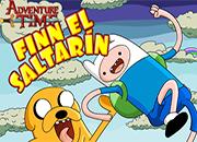 Hora de aventura Finn el Saltarin