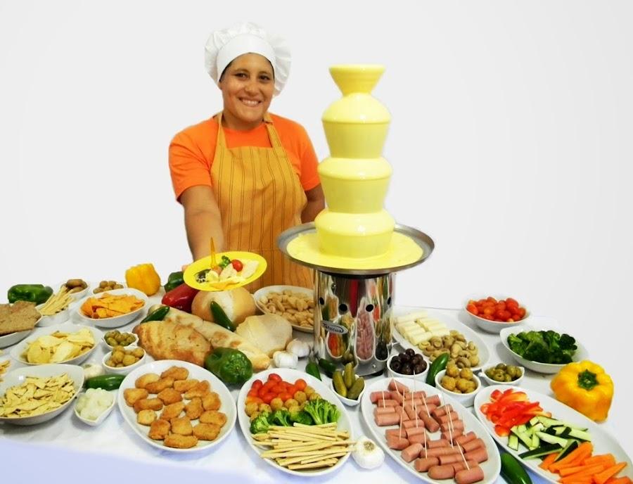 Para Recepciones y fin de fiesta Mesa Salada