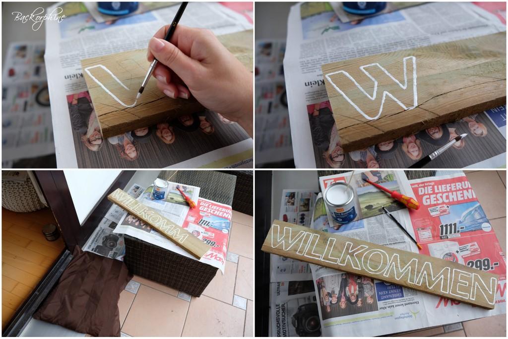 Holzschilder Selber Machen backorphine: diy - holzschild selber machen
