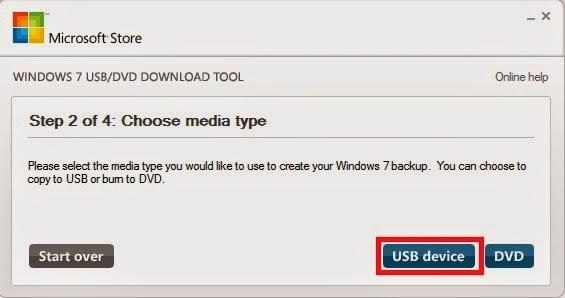 Cara instal windows 7 dengan flashdisk