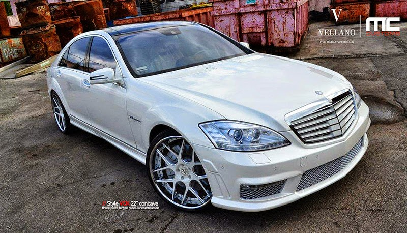 Mercedes benz w221 s63 amg on vellano wheels benztuning for Mercedes benz with rims