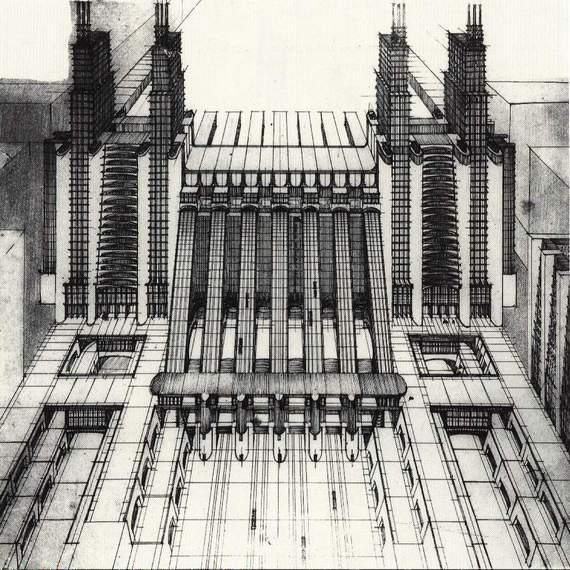 L 39 architettura futurista di antonio sant 39 elia for Architecture futuriste