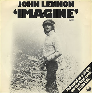 Single Imagine publicado por John Lennon en 1971