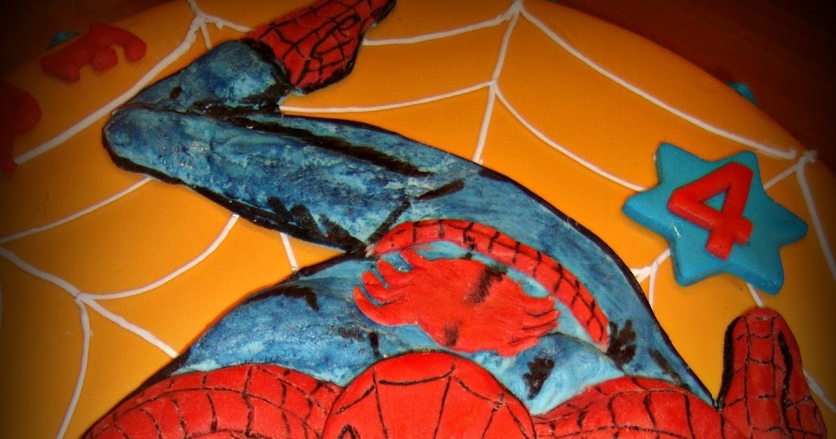 Le Torte Decorate Torta Spiderman L 39 Uomo Ragno