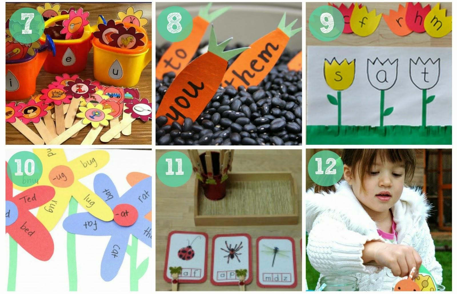 Recursos actividades y materiales de lectoescritura con for Actividades para jardin infantil