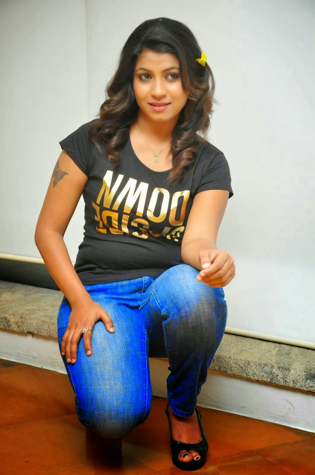 Geethanjali Stills at Romance With Finance Movie Audio Launch