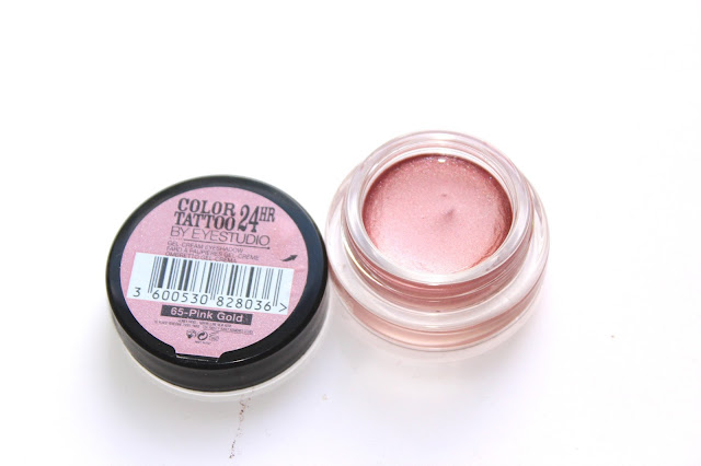 Review - Maybelline Colour Tattoo 24Hr Pink Gold