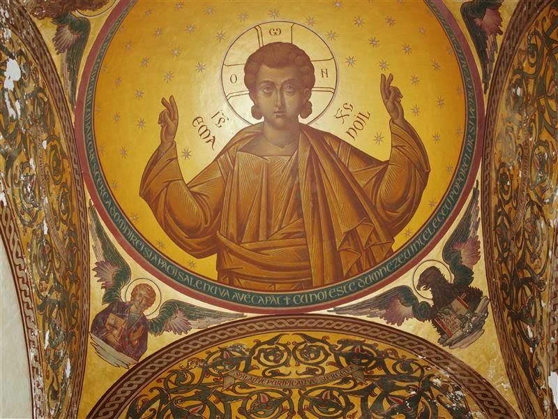 Mural de la catedral de Curtea de Arges