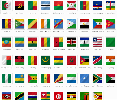 why do african flags all have similar colours bernie s african