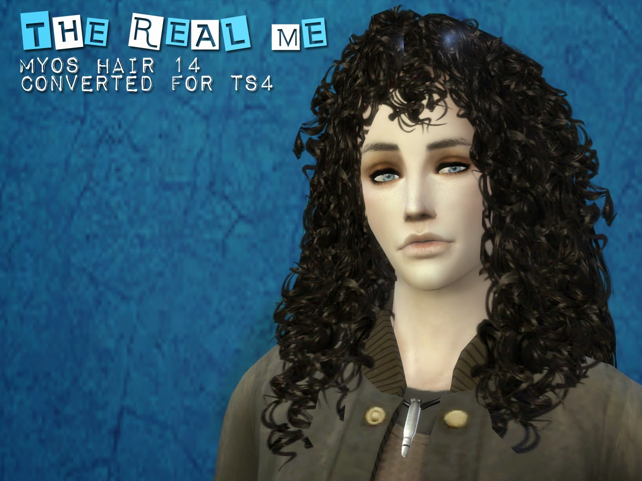 My Sims 4 Blog: Myos 14 Hair Conversion for Males and Females by