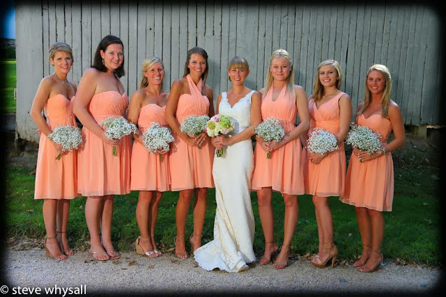 Stone Manor COuntry Club bride and Bridesmaids