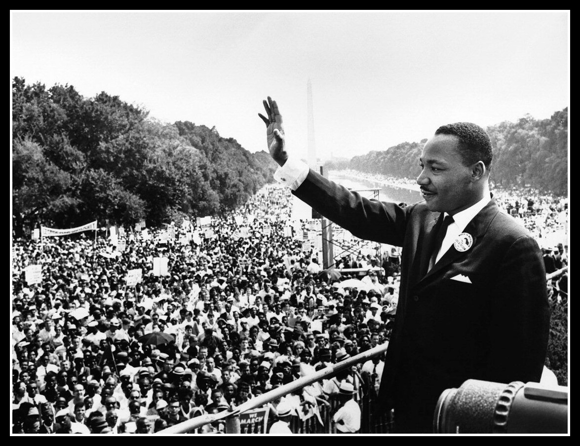 a look at the life and works of martin luther The life and words of martin luther king jr a dramatic retelling of events in the life of the american icon, including his adoption of nonviolence and the famous march on washington grades.