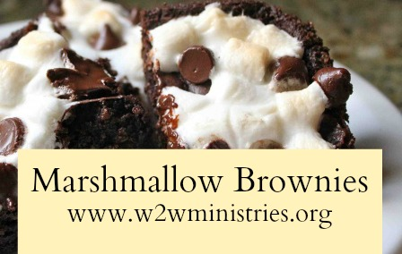 #marshmallow #brownies