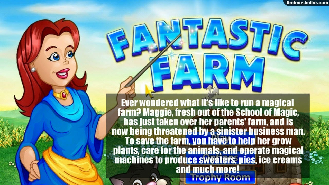 Fantastic Farm a similar game like farmville