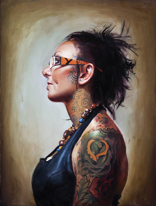 Shawn Barber. Paintings