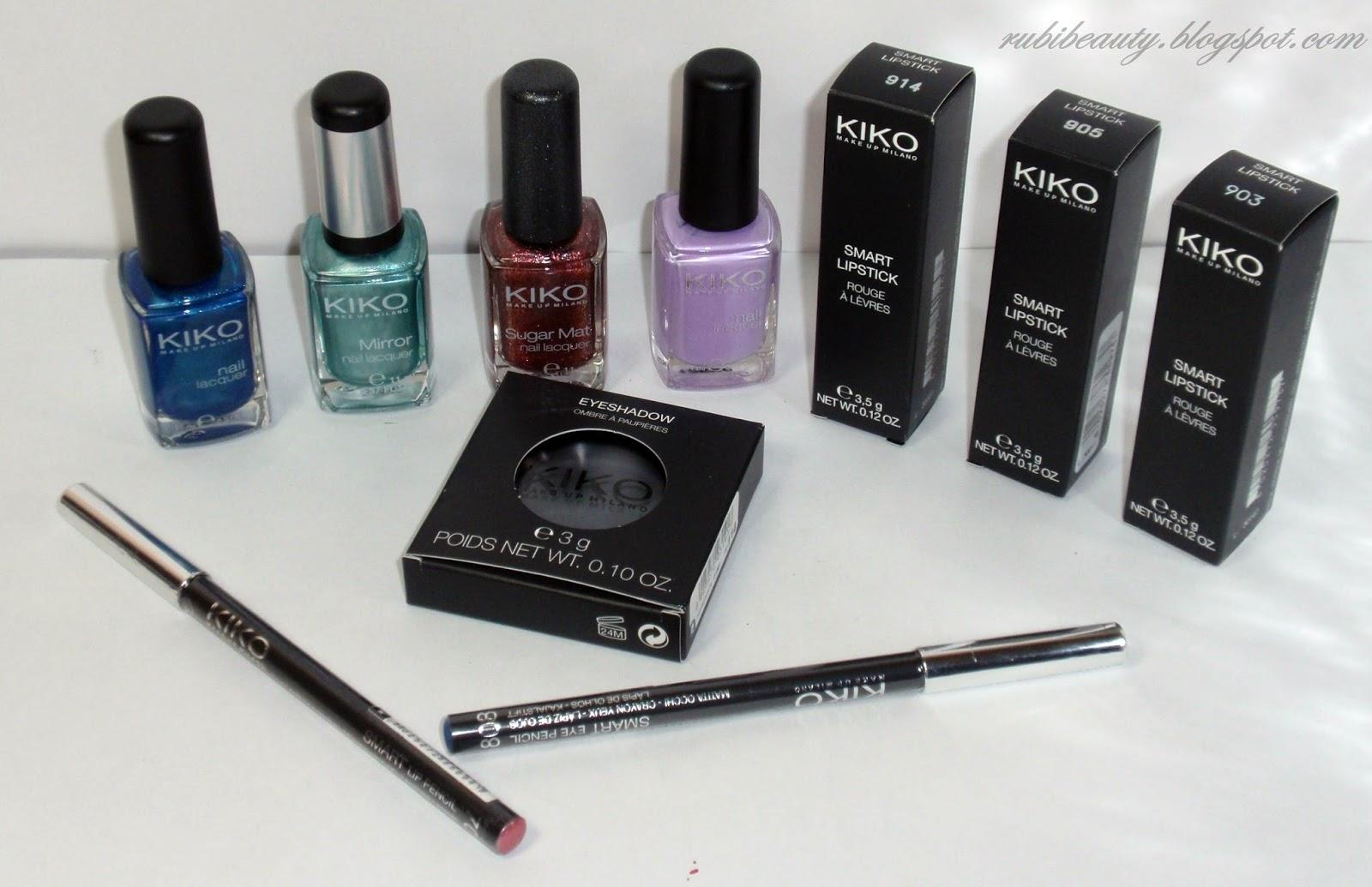 Rubibeauty haul rebajas kiko cosmetics - Pintaunas kiko efecto espejo ...