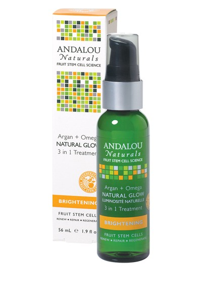 Andalou Naturals Argan Omega Natural Glow 3 in 1 Treatment